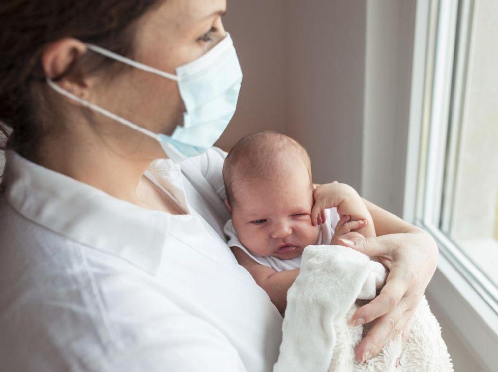 Bayi 40 Hari Meninggal Tertular Corona, Ini Etika Jenguk Bayi di Era New Normal