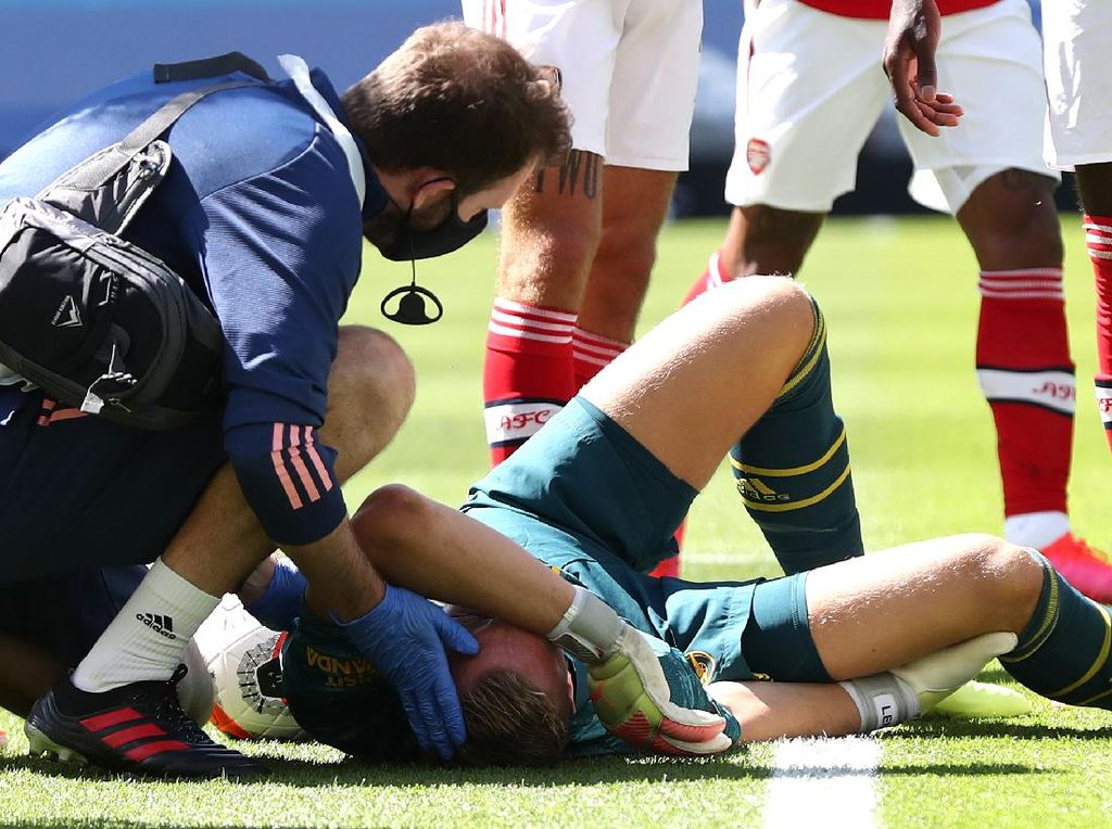 Brighton Vs Arsenal: Cedera Horor Bernd Leno