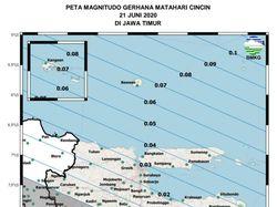 Gerhana Matahari Cincin Bisa Dilihat di 31 Daerah Jawa Timur