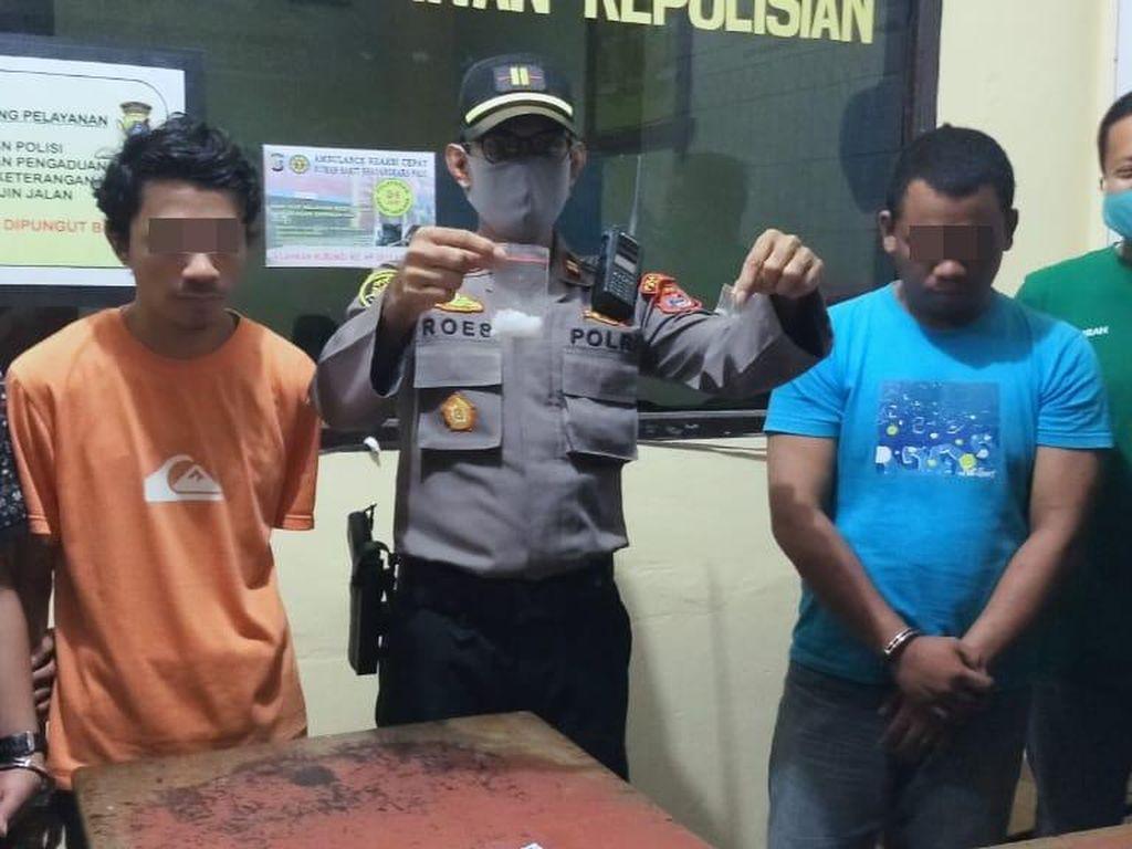 Kedapatan Bawa Sabu, Oknum Guru SD di Palu Sulteng Ditangkap