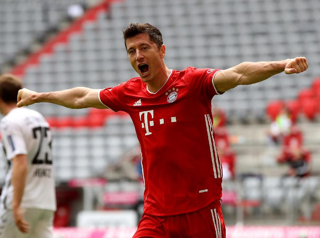 Bayern Vs Freiburg: Lewandowski Patahkan Rekor Aubameyang