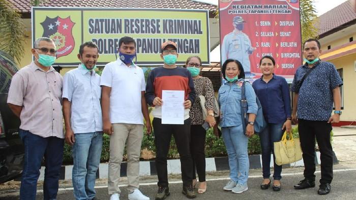 Merasa Difitnah, Wakil Ketua DPRD Tapteng Buat Laporan ke Polisi
