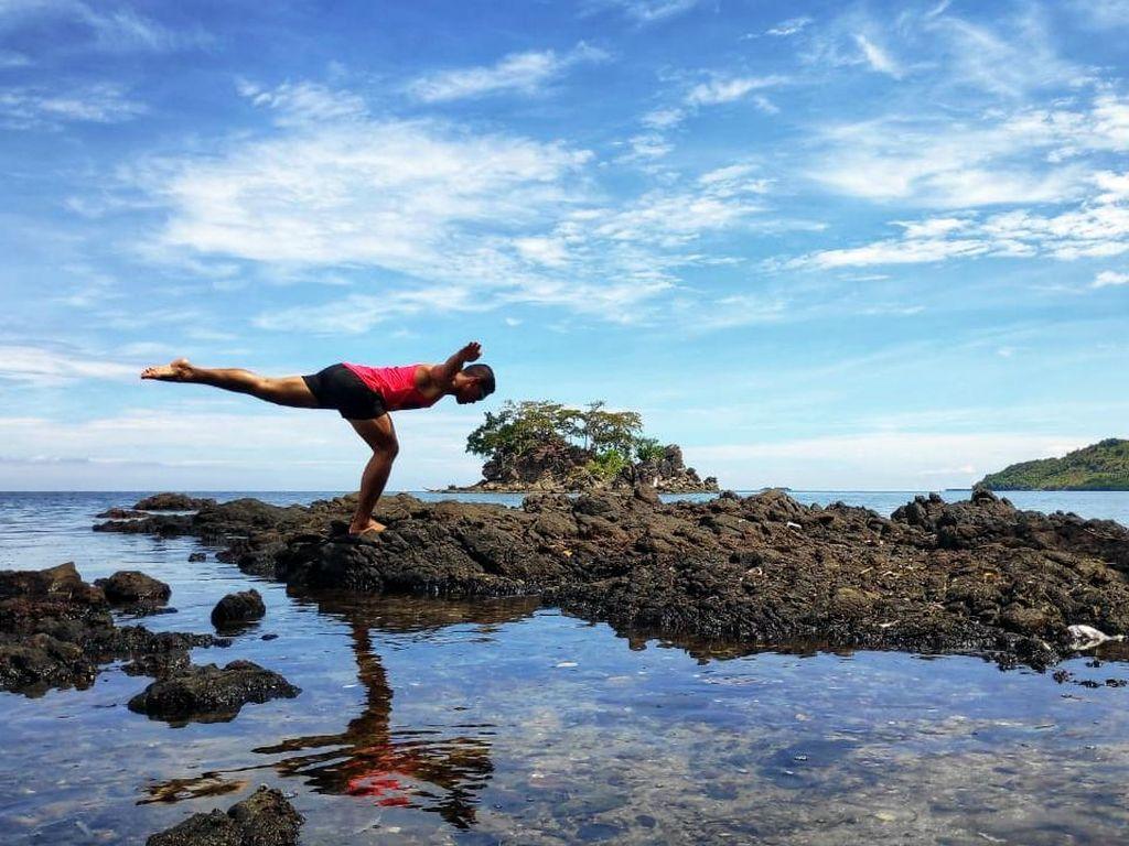 Indahnya Pantai Pasir Putih Tappina di Polewali Sulawesi Barat