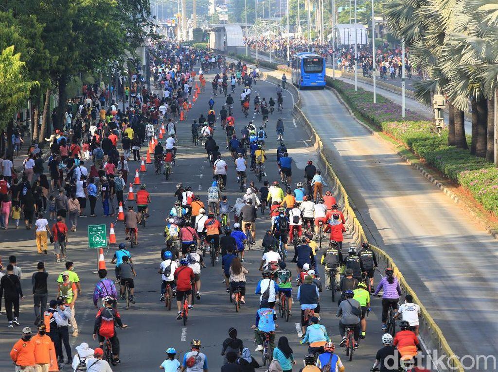Ingat! Berikut 29 Titik Jalur Khusus Sepeda di Jakarta Hari Ini