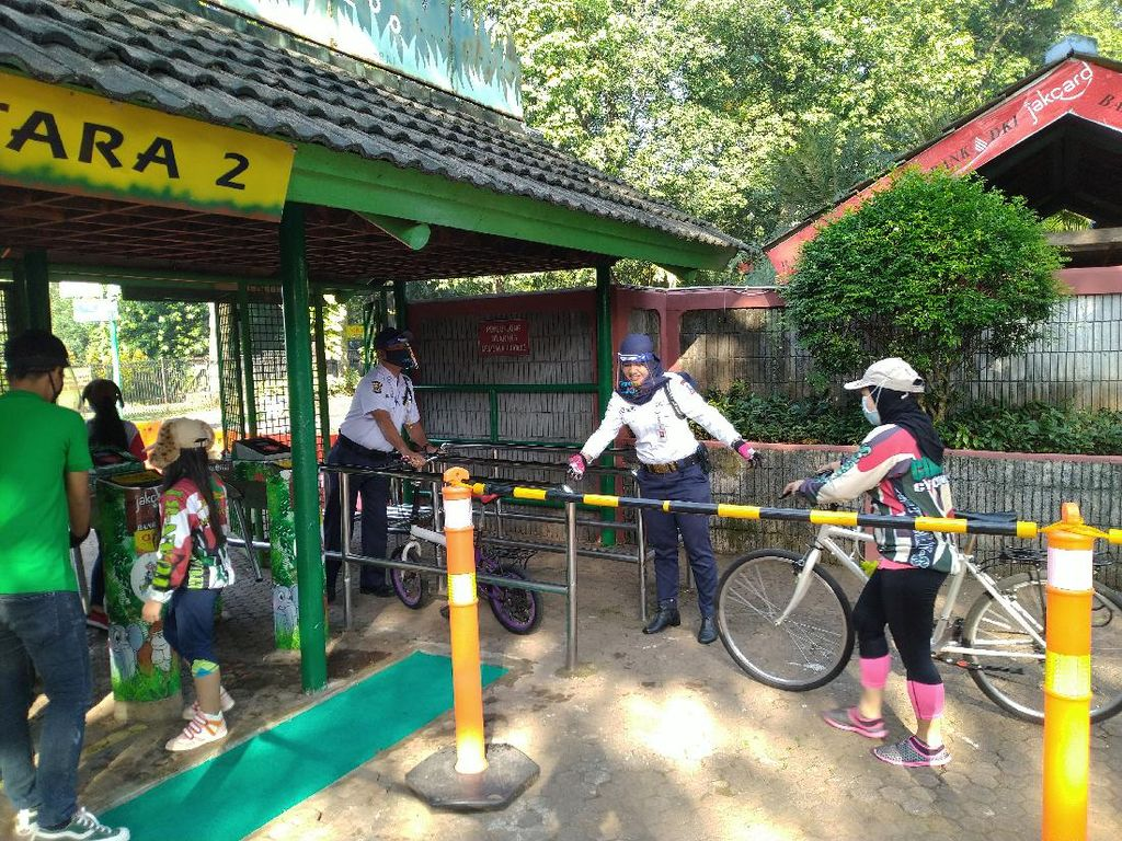 Wisata ke Ragunan Kini Dibatasi Durasi Kunjungannya