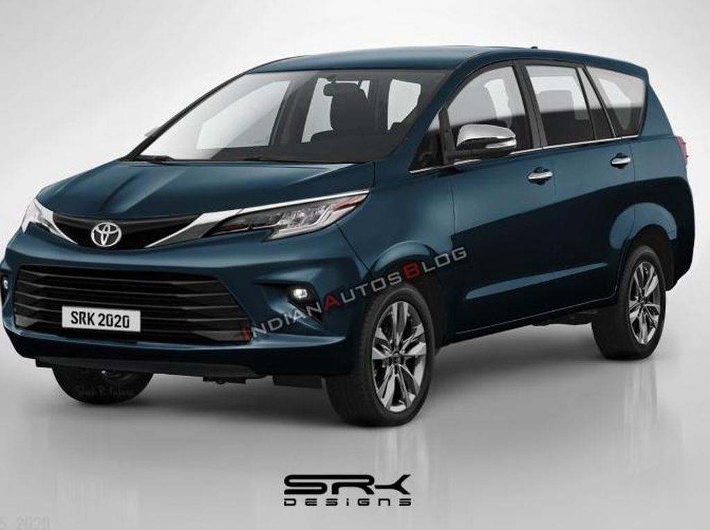 Begini Perkiraan Desain Toyota Innova Facelift