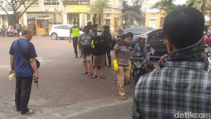 Suara tembakan di Tangerang