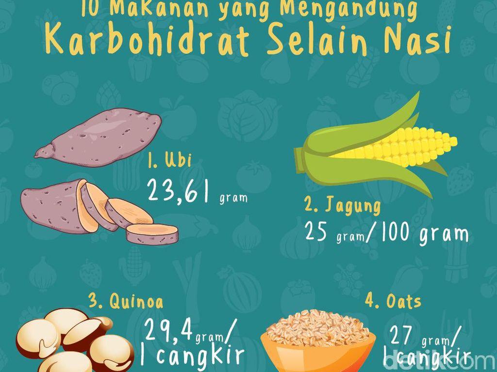10 Alternatif Sumber Karbohidrat Selain Nasi