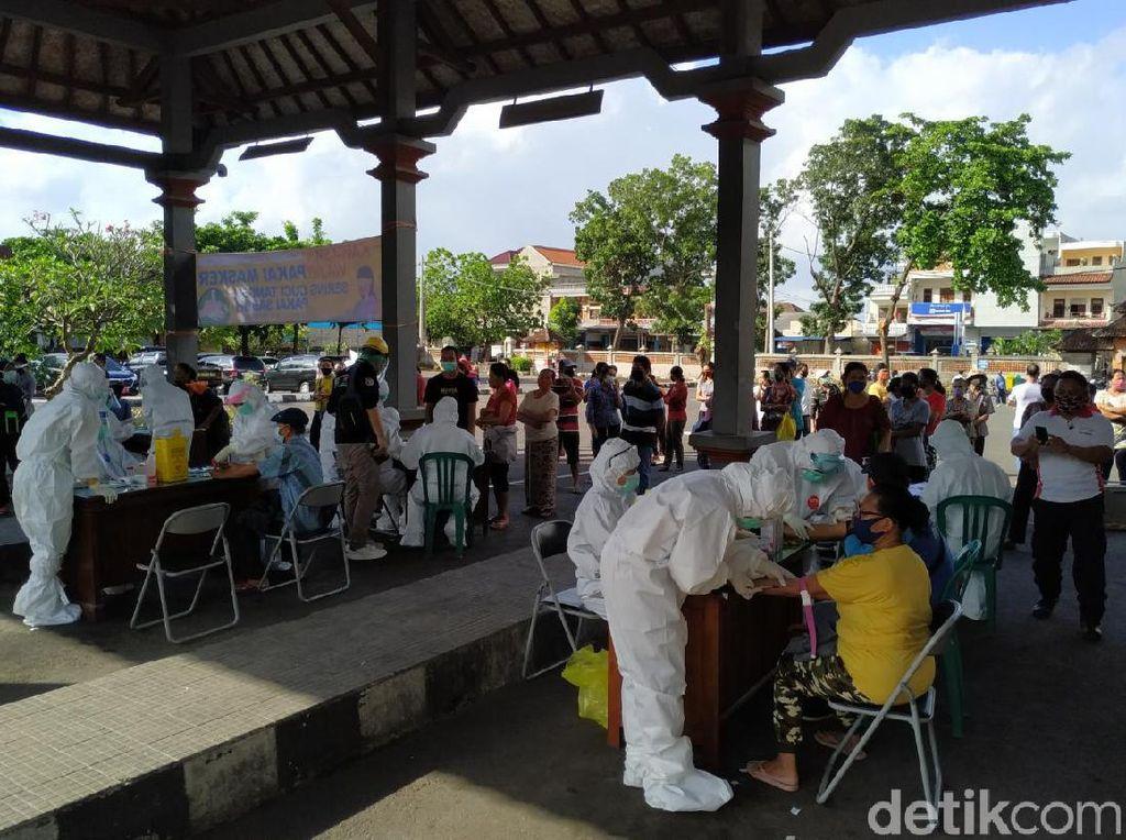 Pasar Galiran Bali Ditutup Sementara Mulai Hari Ini, 500 Pedagang Rapid Test