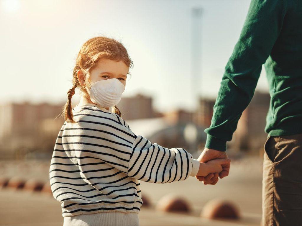 3 Saran WHO Soal Penggunaan Masker pada Anak
