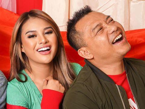 Anang dan Aurel Hermansyah