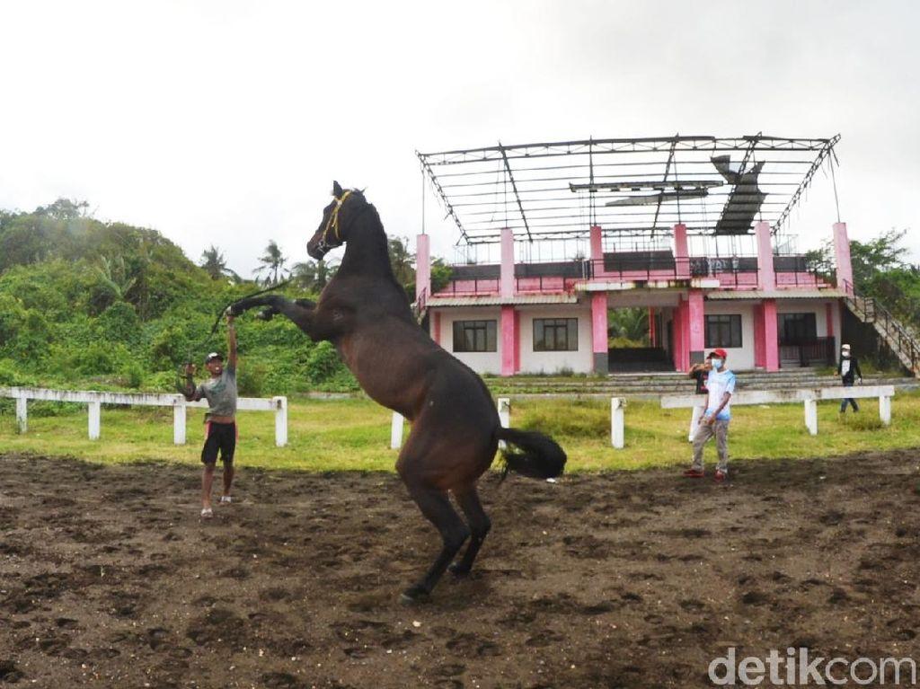 Kondisi Pacuan Kuda Venue PON 2016 Ini Sekarang Bikin Miris