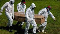 Angka Kematian Akibat Virus Corona di Brasil Tembus 60 Ribu