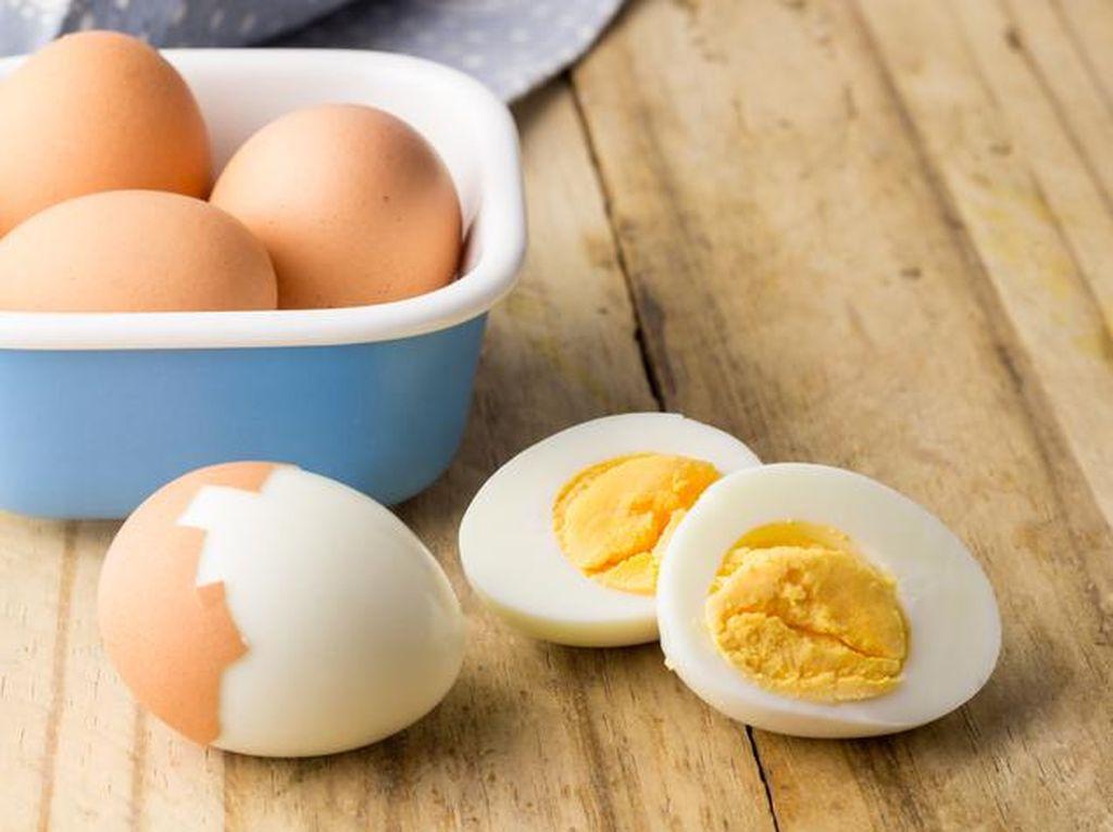Diet Telur Rebus Bisa Bikin Berat Badan Cepat Turun?