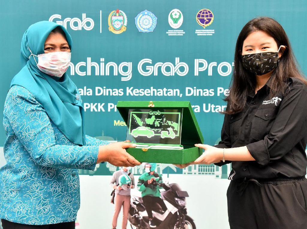 Hadirkan Standar Kebersihan, Grab Luncurkan Grab Protect di Medan