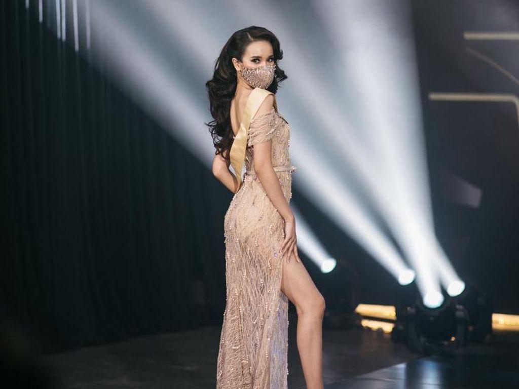 Gaya Tak Biasa Finalis Ratu Kecantikan saat Pandemi, Kompetisi Pakai Masker
