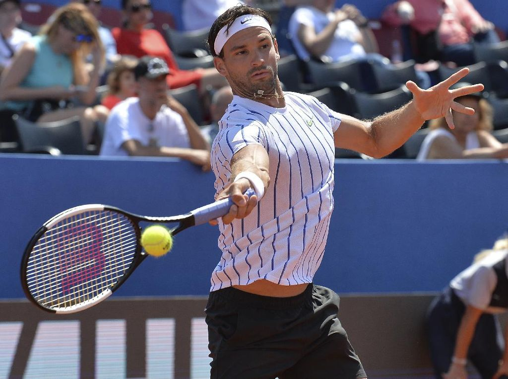 Grigor Dimitrov Positif Corona, Novak Djokovic yang Kena Semprot