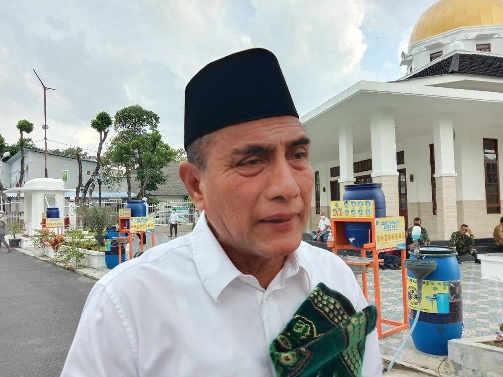 Marak Bocah Jadi Manusia Perak di Jalanan Medan, Gubsu Edy: Kita Ambil-Bina