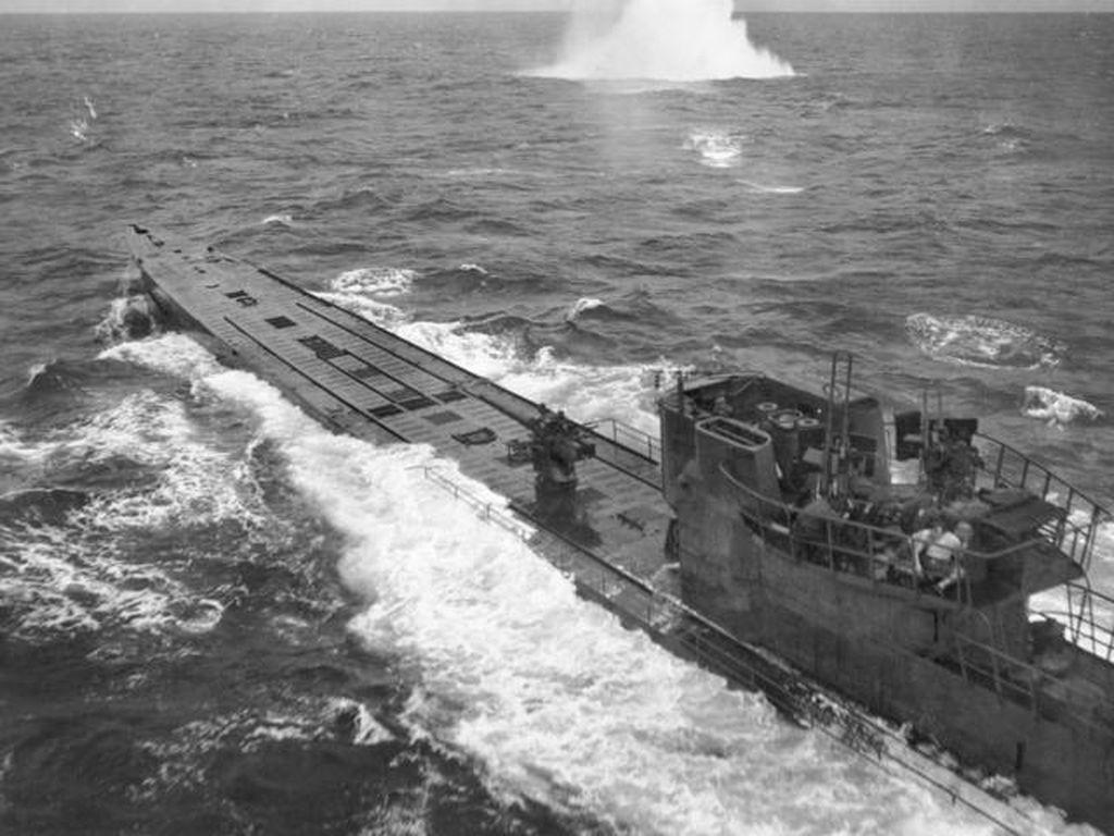 Kapal Nazi U-196, Mengerikan tapi Takluk Secara Misterius di Selat Sunda