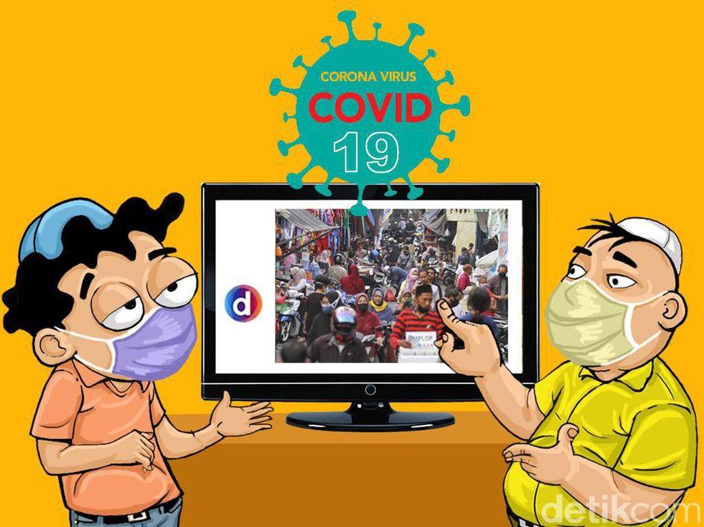 Survei Sebut Surabaya Remehkan Corona, Pakar: Karena Pengetahuannya Rendah
