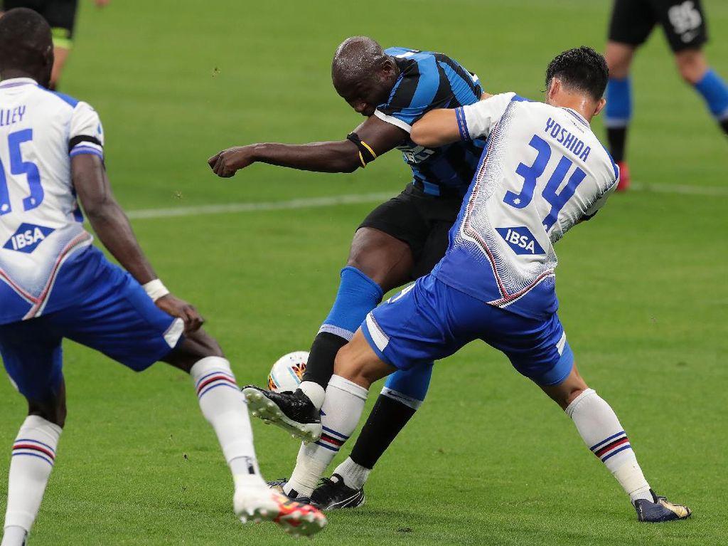 Inter Vs Sampdoria: Lukaku & Lautaro Menangkan Nerazzurri