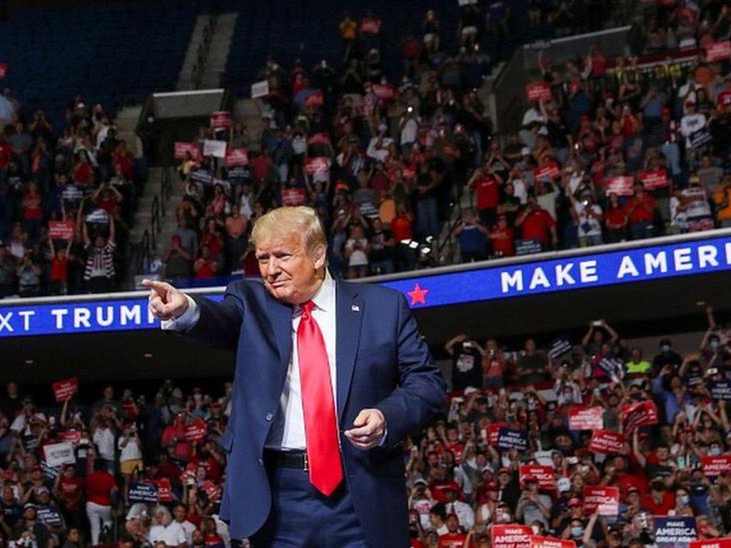 Video Trump Minta Tes Corona Diperlambat Agar Tak Ada Lonjakan