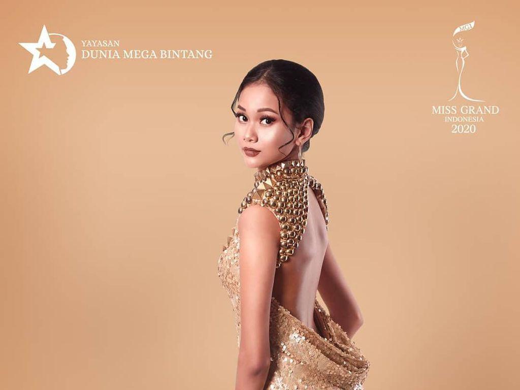 7 Pesona Cantik Kharisma Aura, Juara Miss Grand Indonesia 2020