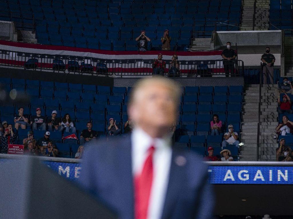 Mengandung Kebencian, Akun Donald Trump Di-suspend Oleh Twitch