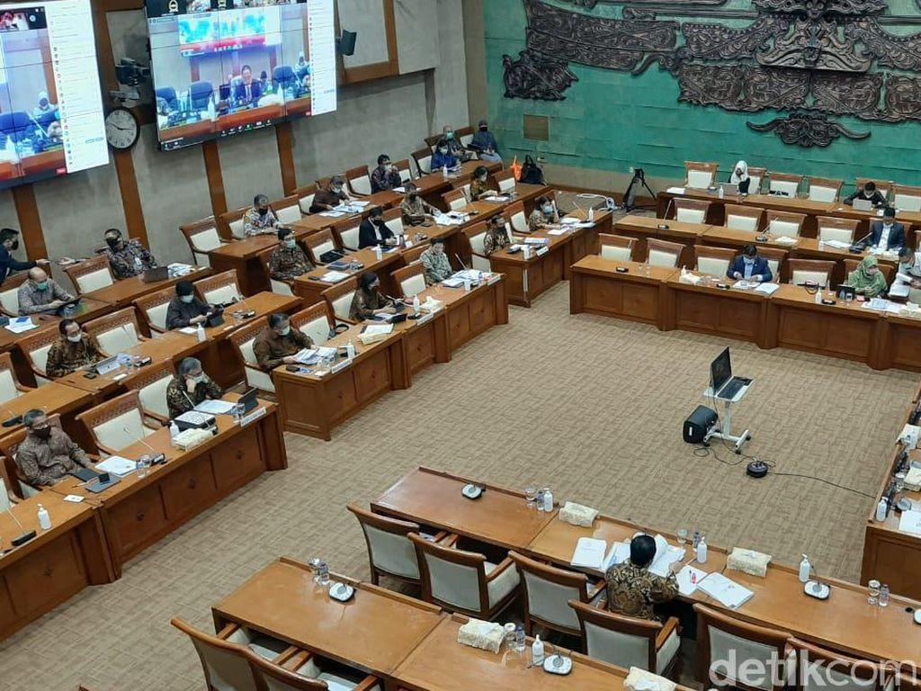 Sri Mulyani dan Suharso Rapat Bareng DPR Bahas Kerangka Anggaran 2021