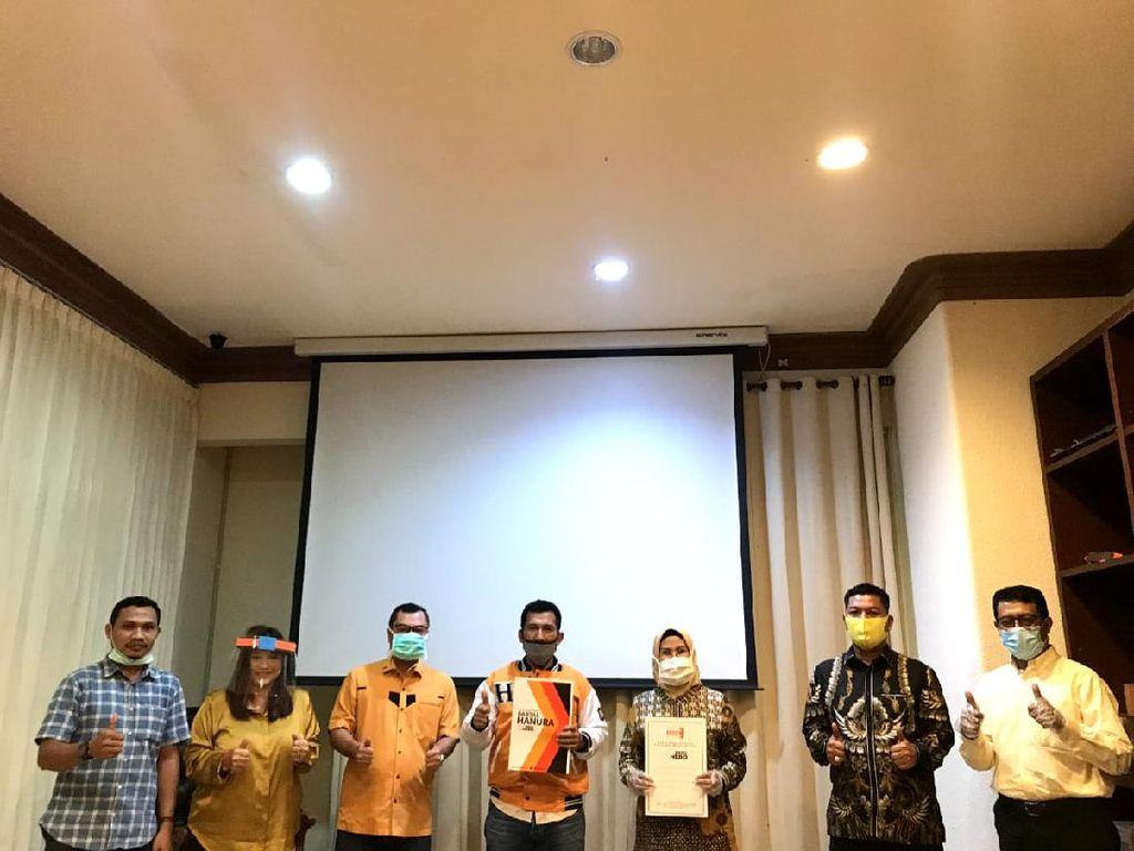 Hanura Resmi Dukung Tatu-Pandji di Pilkada Kabupaten Serang