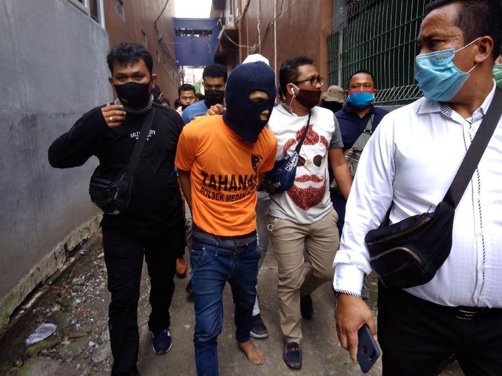 Polisi Dalami soal Kain Kafan-Bunga Kantil Diduga Milik Ayah Bunuh Anak Tiri