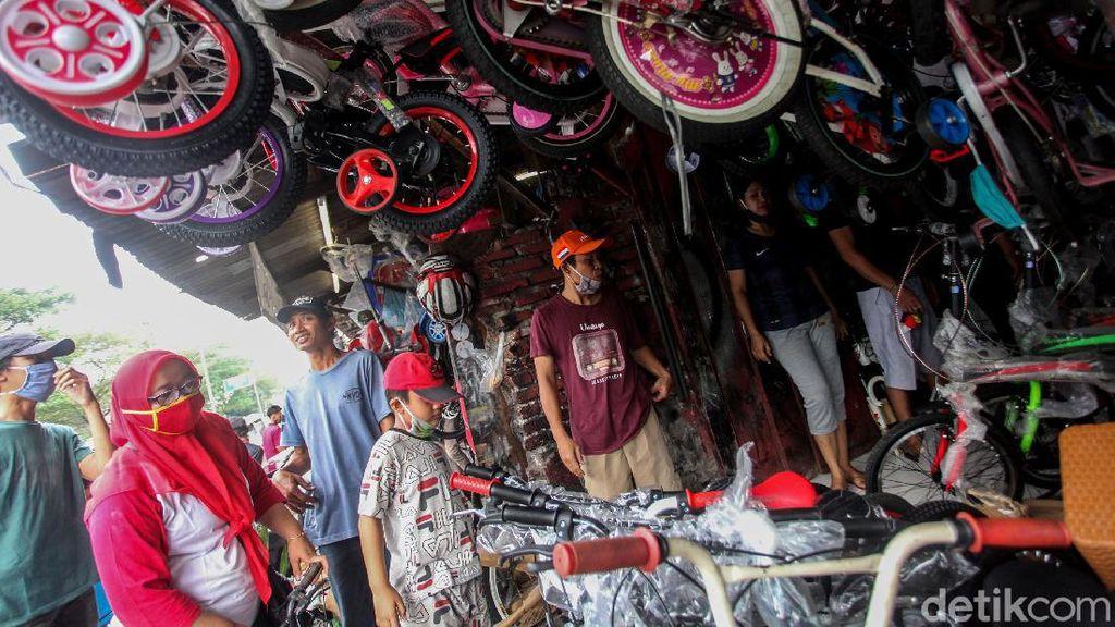 Rame Banget! Penjualan Sepeda Makin Laris