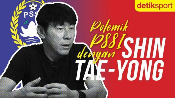 Polemik PSSI dengan Shin Tae-yong