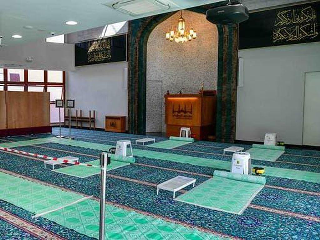 Masjid Singapura Kembali Izinkan Salat Berjemaah, Wajib Booking Online