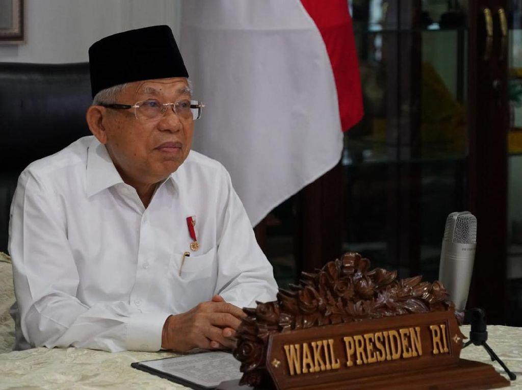 Maruf Amin Ingatkan Usia 15-35 Rentan Terpapar Narkoba