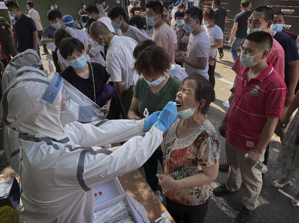 China Kembali Laporkan Lonjakan Kasus Virus Corona, Didominasi Asimptomatik