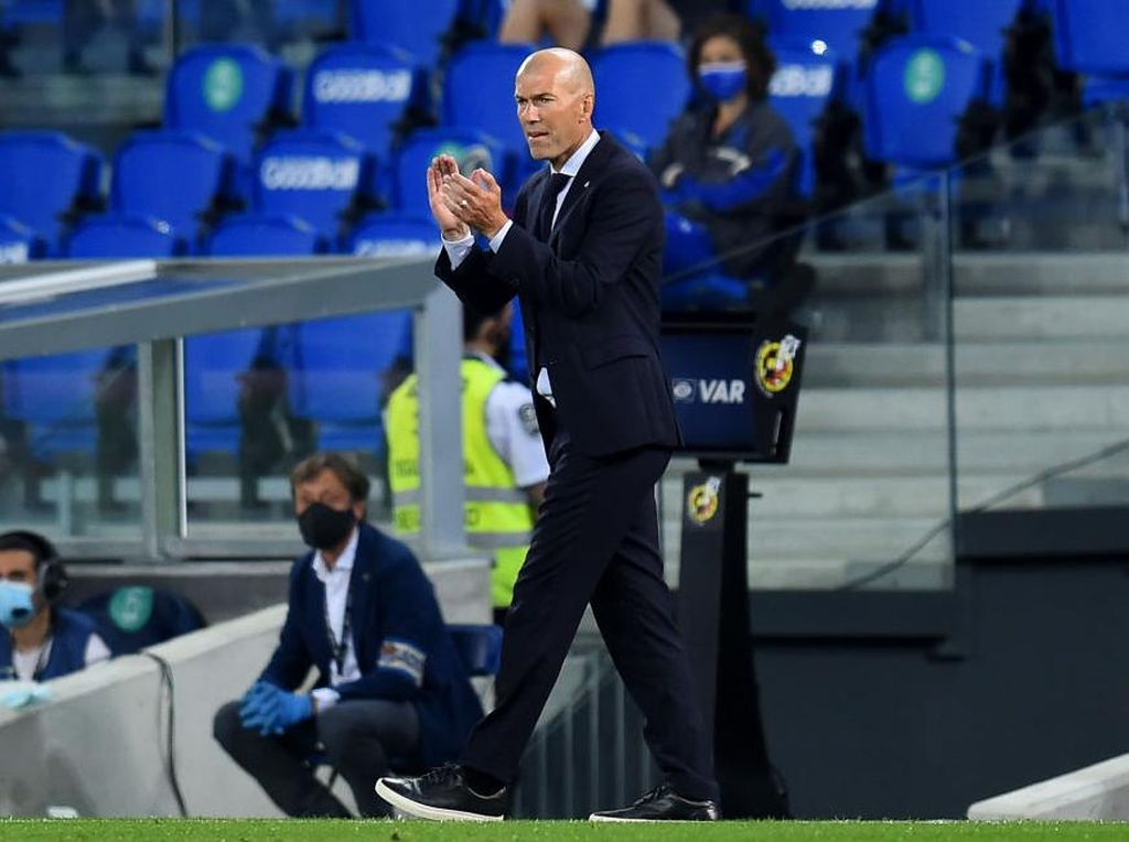 Madrid Dianggap Anak Emas, Zidane yang Jengkel Bilang Begini