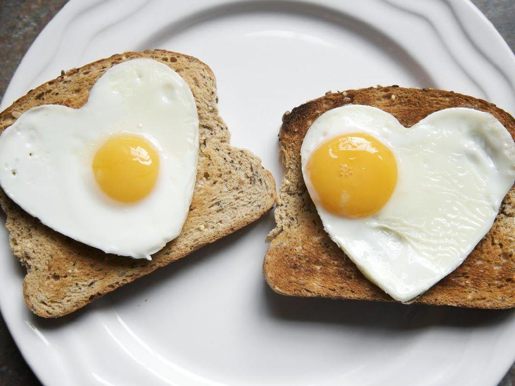 Sarapan Tinggi Protein Bikin Badan Tetap Langsing