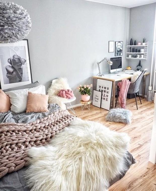 Menghias kamar dengan karpet bulu
