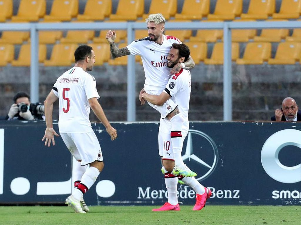Lecce Vs Milan: Peluang Rossoneri ke Eropa Masih Terbuka Lebar