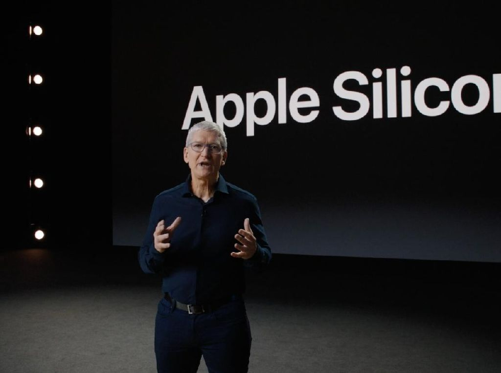 Pensiunkan Intel, Mac Bakal Ditenagai Apple Silicon