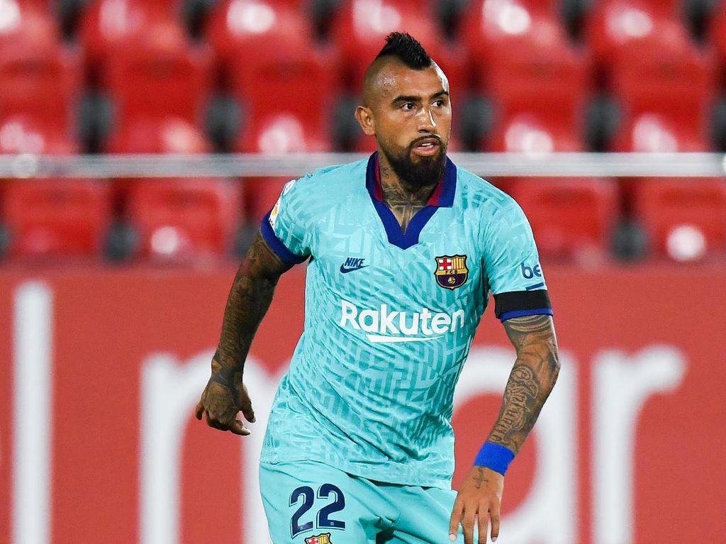 Curhat Vidal soal Main Tanpa Suporter di Stadion