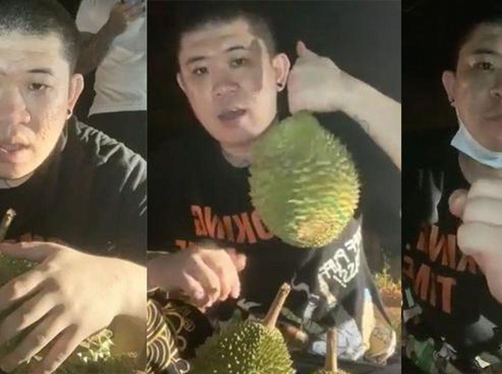 Lelang Durian Online di Tengah Kuburan, Pria Ini Dicari Polisi