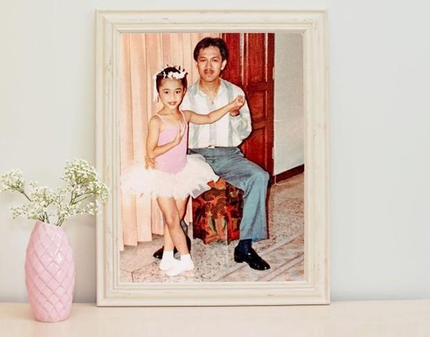 Prita Hapsari sejak kecil sudah belajar menari balet.