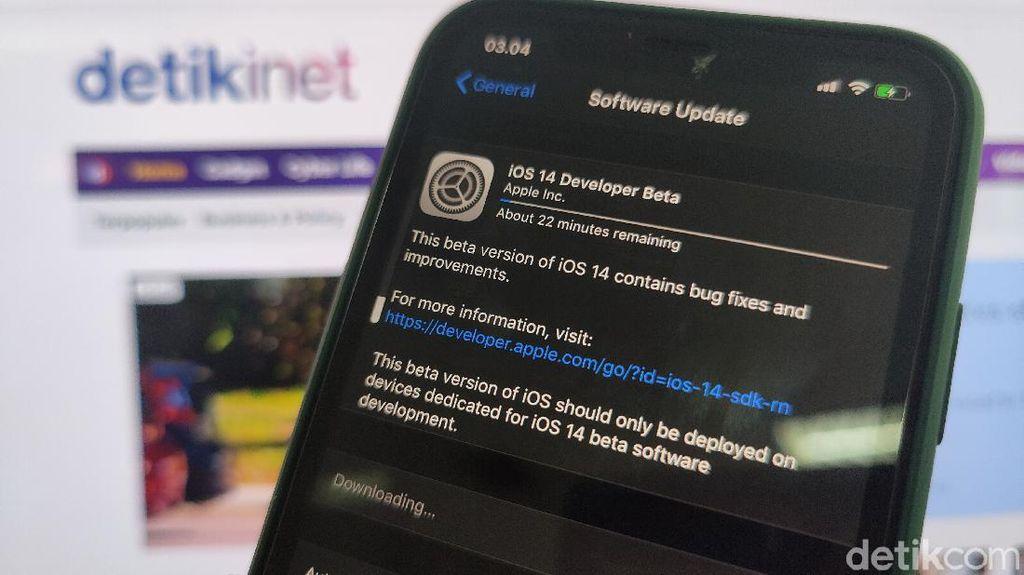 Menjajal Fitur Baru iOS 14