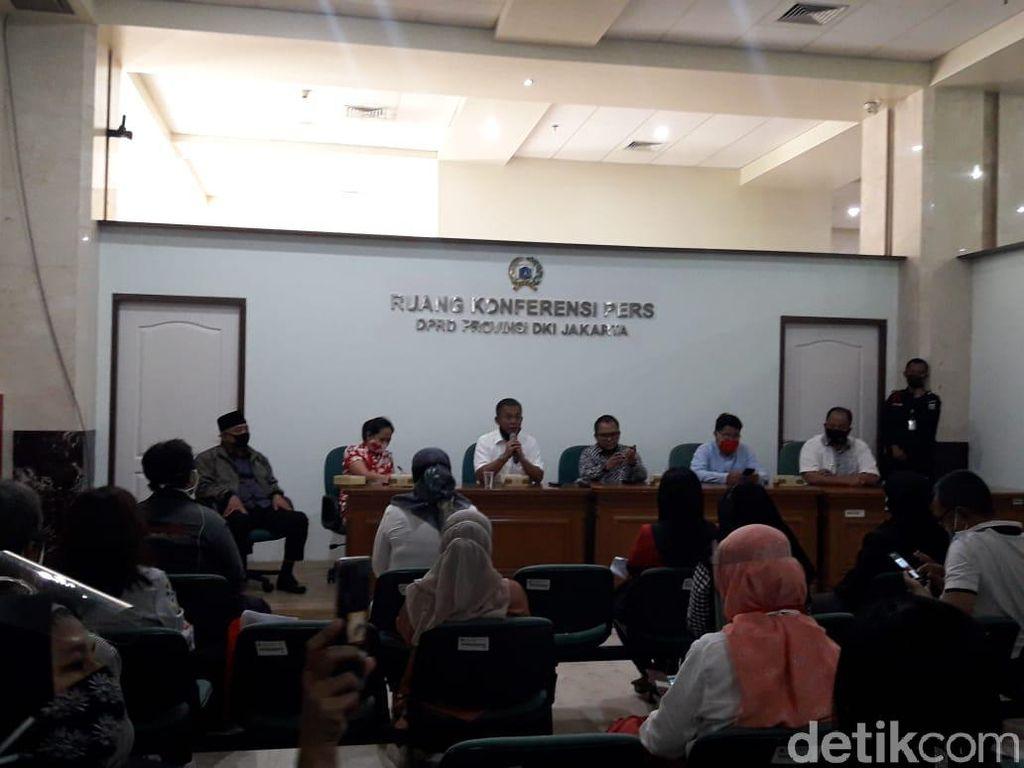 Kecewa Tak Ditemui Anies, OTM yang Demo di Gedung Balai Kota Sambangi DPRD DKI