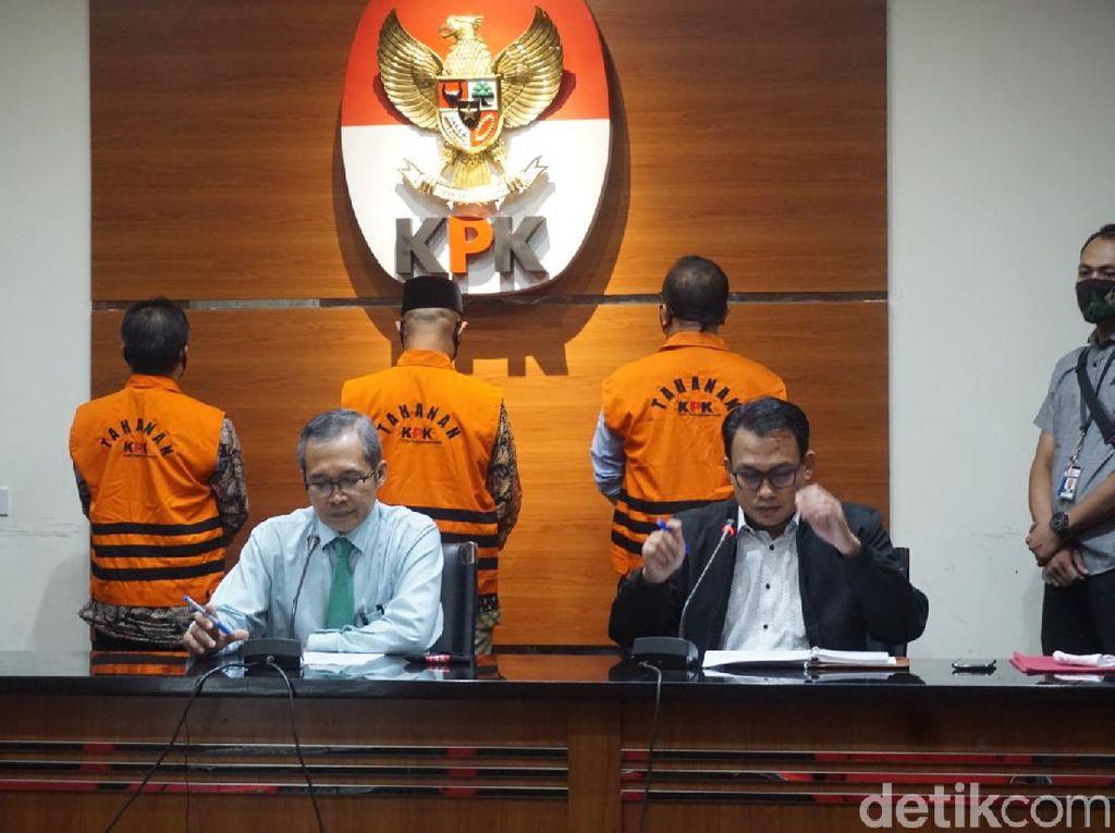 KPK Tahan 3 Eks Pimpinan DPRD Jambi Tersangka Suap Pengesahan APBD