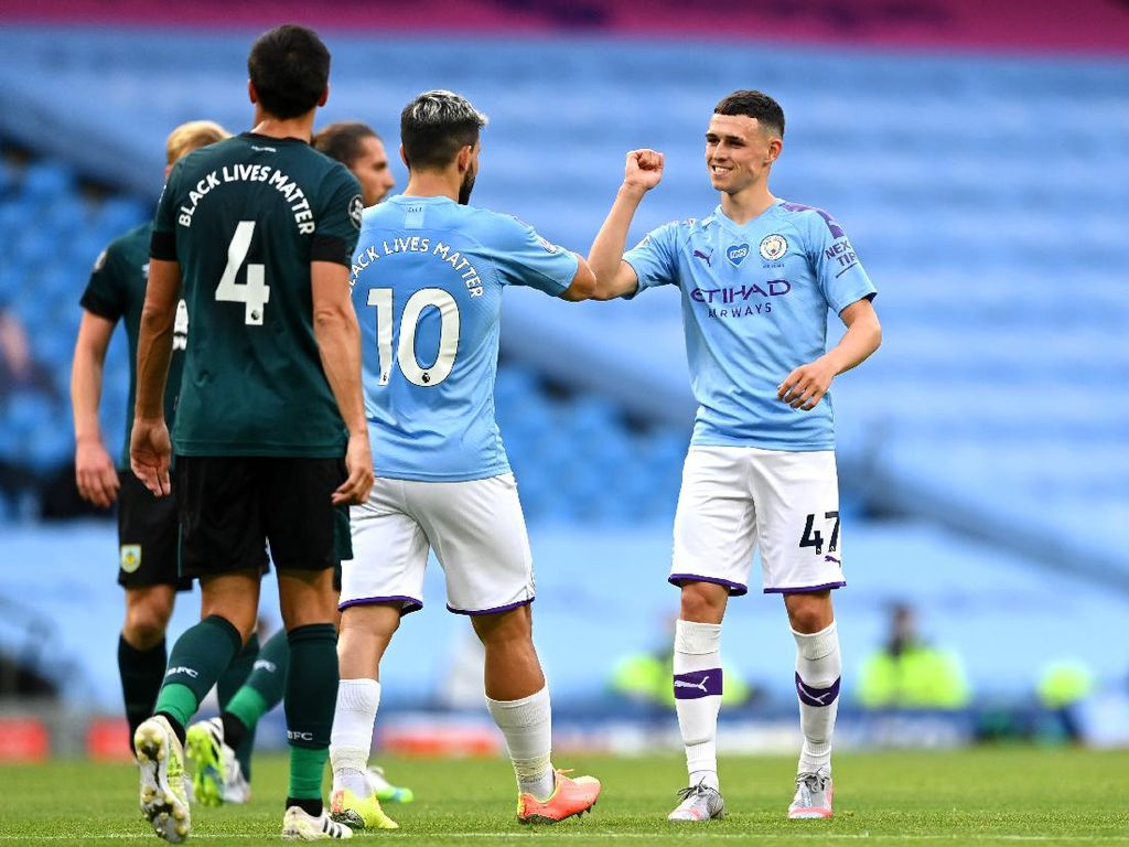 Man City Vs Burnley Jadi Laga Terbaik buat Phil Foden