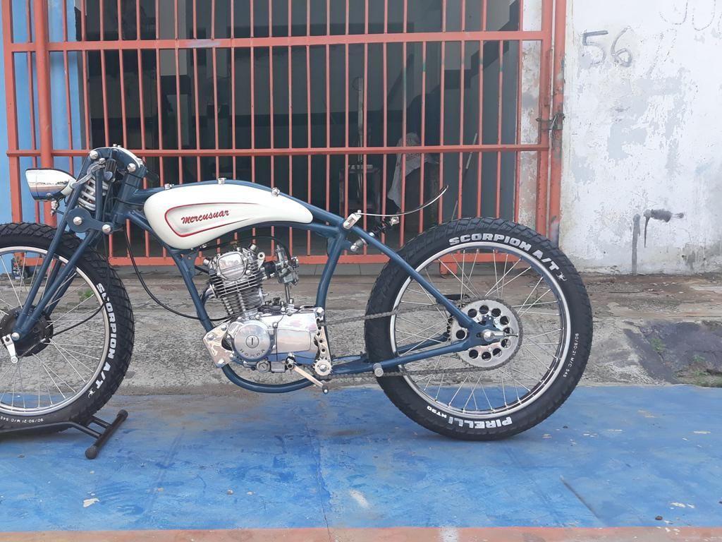 Daripada Tawuran, Siswa SMK Ini Pilih Racik Honda GL Jadi Motor Custom