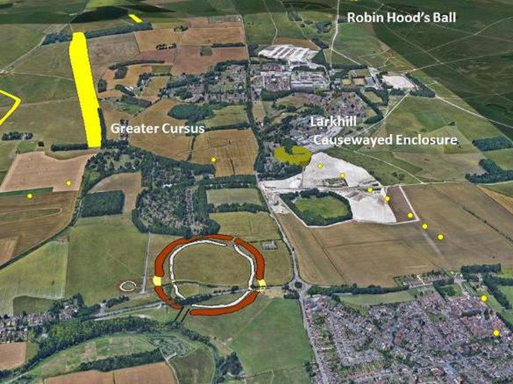 Wah, Monumen Neolitik Kuno Ditemukan di Dekat Stonehenge